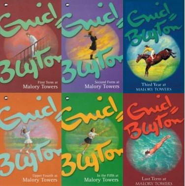 Enam serial Malory Towers karangan Enyd Blyton